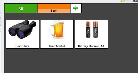 Screenshot of Quick Sell Screen